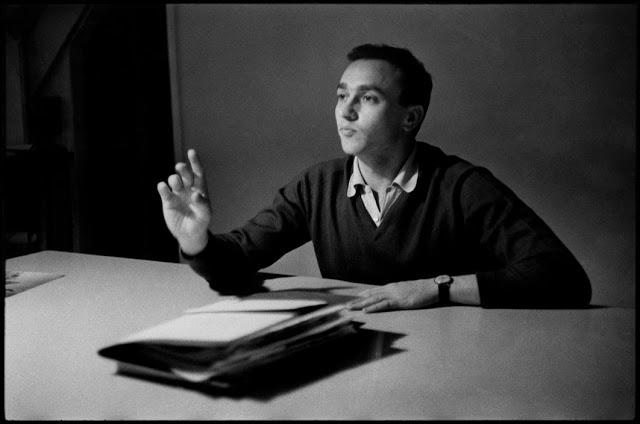 FRANCE. Paris. French editor Robert Delpire. 1957.